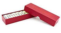 Настольная игра домино в картонной коробке (17,4 * 3,2 * 5,2 см)