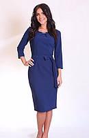 Женское платье с тканевым поясом, фото 1