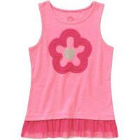 Майка для девочки розовая с фатином 6, 7лет из США