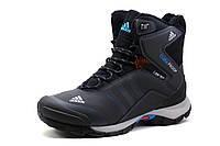 Кроссовки Adidas Climaproof, зимние, высокие, на меху, темно-серые, р. 42 43 45 46, фото 1