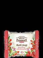 Туалетное мыло Ягоды годжи с миндальным маслом 100г Зеленая Аптека
