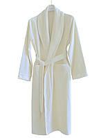 Кашемировый халат  HAMAM QASHMARE IVORI размер  L/XL