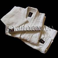 Кимоно для дзюдо плетёное белое 550 г/м2