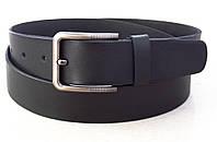 Широкий мужской кожаный ремень King Belt для джинс