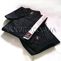 Кимоно чёрное для карате