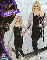 Женская домашняя одежда из Турции Night Angel 3176-R. Размер 44-46.