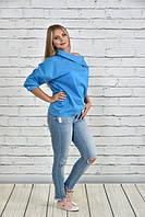 Стильная блуза-туника больших размеров (рр 42-74), разные цвета