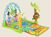 """Развивающий коврик для младенцев """"Умный малыш"""" или """"Тропический лес"""" 7181"""