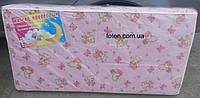 Матрас для детской кроватки КПК-SuperLUX  кокос-поролон-кокос, 120х60 см. Толщина 10 см. Мишки