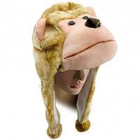 Шапка маска Обезьяна