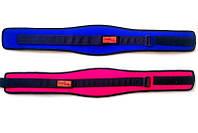 Нейлоновый пояс для атлетики L Wide Onhillsport розовый