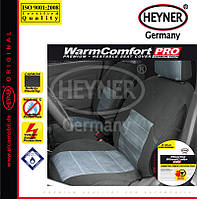 Накидка на сиденье с подогревом HEYNER Premium CarbonFiber ✓  1шт. ✓  цвет: серый