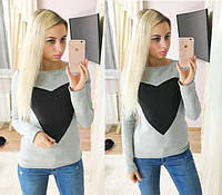 Женский стильный свитер на флисе (3 цвета)