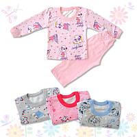 Теплая детская пижама (с начесом)