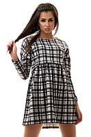 Платье женское клетка, фото 1