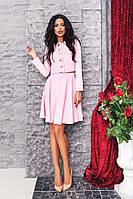 Костюм женский пуговицы юбка + пиджак, фото 1