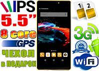 Новый Huawei X M8  8 core, 5.5'' IPS, 2 sim, 3G, GPS+чехол