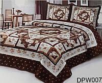 Красивое покрывало на кровать + 2 наволочки