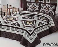 Модное покрывало на кровать от производителя + 2 наволочки