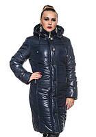 Женское зимнее стеганное пальто больших размеров (рр 50-62), разные цвета
