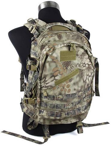 Лёгкий универсальный рюкзак TMC MOLLE Style A3 Day Pack Nomad, TMC2213 (Пустынная змея)
