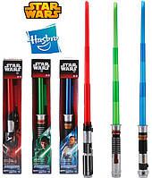 Интерактивный световой мечи Дарт Вейдер, Ван Кеноби и Люка Звёздные Войны свет, звук! Оригинал из США