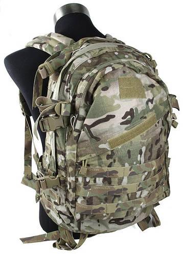 Легкий универсальный рюкзак 20 л. TMC MOLLE Style A3 Day Pack MC, TMC1411 (Камуфляж)