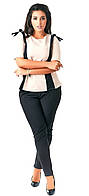 Костюм  женский полубатал блуза+брюки, фото 1