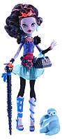 Кукла Монстер Хай Джейн Булитл с питомцем, серия Базовые куклы