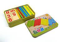 Деревянный набор Изучаем цифры для ребенка