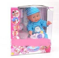 Пупс warm baby (беби борн) 8004-404 В