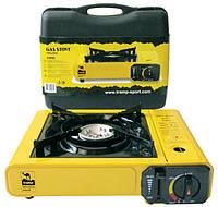 Портативная газовая плита одноконфорочная с пьезоподжигом Tramp TRG-004
