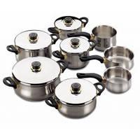 Набор посуды из нержавеющей стали Fagor DELTA (13 предметов) Акция!