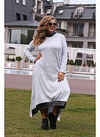 Женское платье в пол Фридом вязка размер 48-70