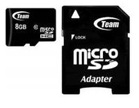 Карта памяти Team 8Gb microSDHC class 10