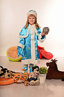 Детский новогодний карнавальный костюм Снегурочка
