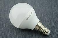 LED лампа Titanum Шарик G45 5Вт E14 4100K