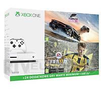 Xbox ONE S 500 Gb + FIFA 17 + Forza Horizon 3