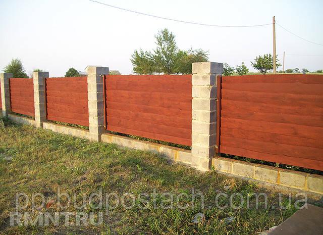 Как сделать красивый дешевый забор