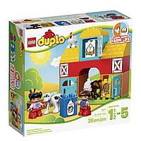 Конструктор LEGO Duplo Моя первая ферма (10617)