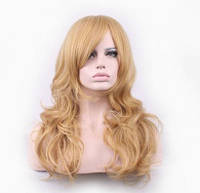 Парик длинные волосы Блонд
