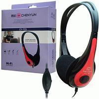 Наушники с микрофоном гарнитура CY-723