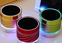 Мини-динамик AU-S07U USB BT блютуз + радио + подсветка
