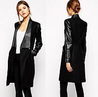Женское замшевое пальто РМ6585