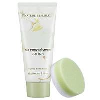 Nature Republic Cotton Hair Removal Cream Крем для депиляции