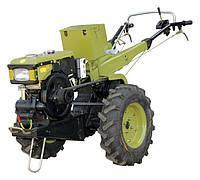 Мотоблок Зирка WC80D+фреза и плуг (дизель 8 л.с.,передач - 6/2 колеса 6.00-12)