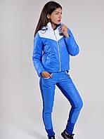 Женский спортивный костюм (лыжный) Classic на синтипоне электрик