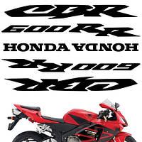 Виниловая наклейка на мотоцикл 4