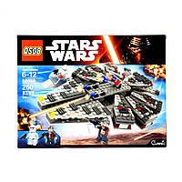 """Детский конструктор для мальчиков """"Star Wars"""" 260 деталей 88050"""
