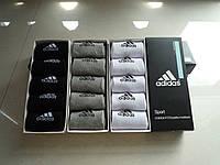 Носки спортивные ADIDAS FIT DRY WICKS комплект 5 пар (3 цвета)